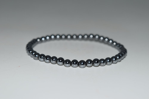 4mm Terahertz Bead Stretch Bracelet