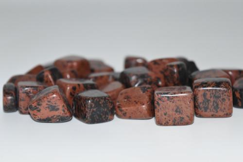Mahogany Obsidian Tumbled Stone Crystal 1 pc.