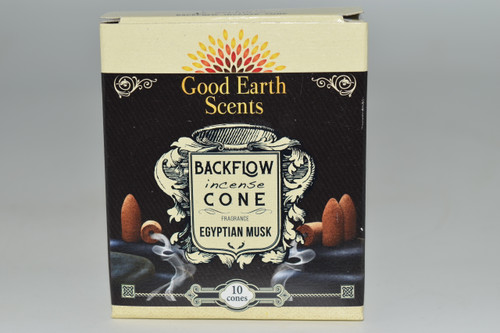 10pc Egyptian Musk Backflow Incense Cones - Good Earth Scents