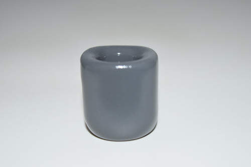 """Grey Chime Candle Holder - 1/2"""" candle holder"""