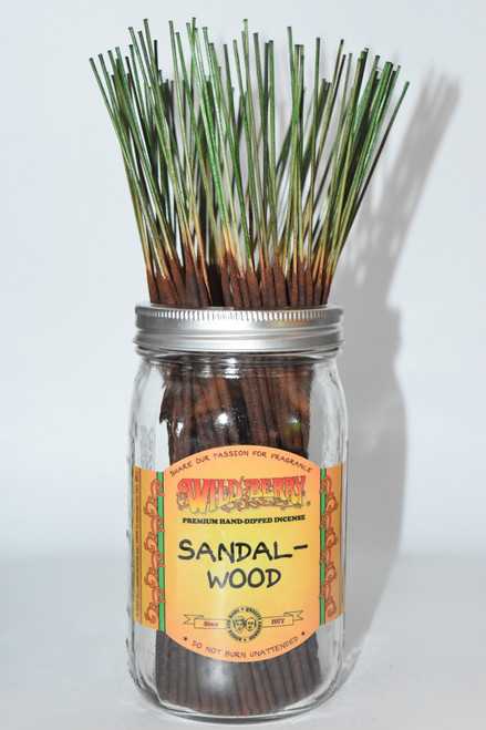 Sandalwood Wildberry Incense Sticks- 10 sticks- Incense sticks