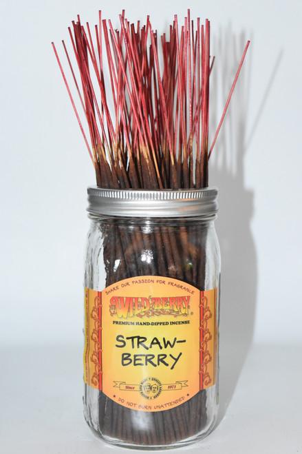 Strawberry Wildberry Incense Sticks- 10 sticks- Incense sticks