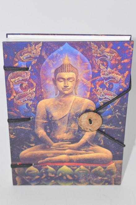 Gold Buddha Hard Cover Journal Notebook