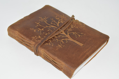 Tree of Life Leather Wrap Journal, Notebook