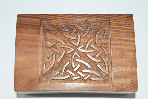 Celtic Knot Box- Tarot Cards, Crystals, Altar Supplies, Gift Giving