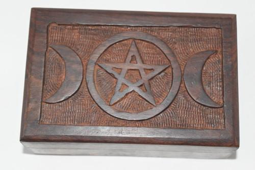 Triple Moon Box- Tarot Cards, Crystals, Altar Supplies, Gift Giving