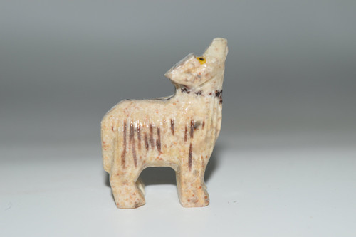 Wolf Animal -Dolomite Crystal