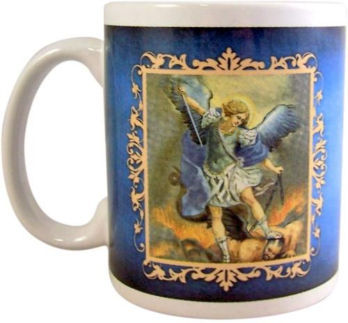Saint Michael Prayer Mug-   10 Oz Coffee Mug Dishwasher and Microwave Safe