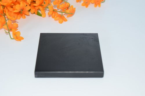 Shungite Tile- Electromagnetic Frequency Protection, EMF Ray Protection,  Reiki, Orgone