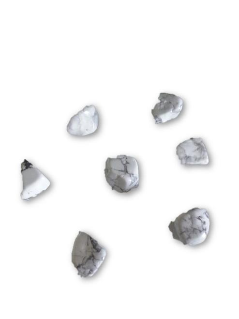 Howlite Crystal Tumbled 1 pc