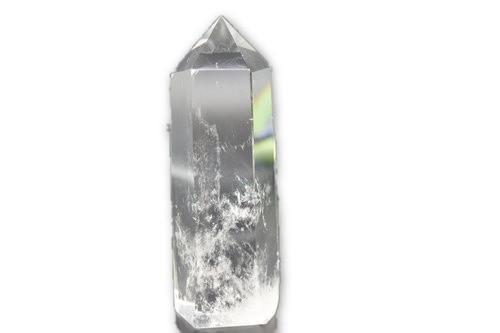 256g Clear Quartz w/ Angel feather Inclusions