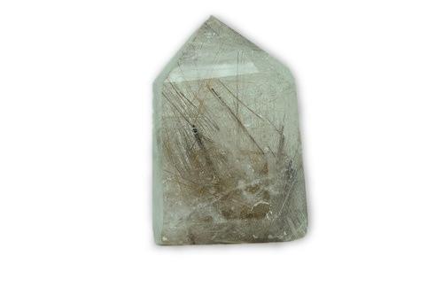 122g Copper Hair Rutilated Inclusions Quartz Crystal