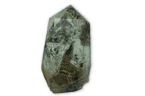 148g Red and Green Phantom Quartz Crystal