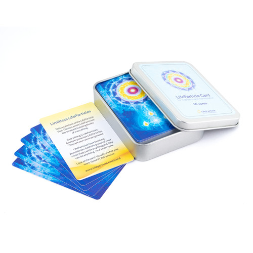 LifeParticle Energy Meditation Card - 50 Pack