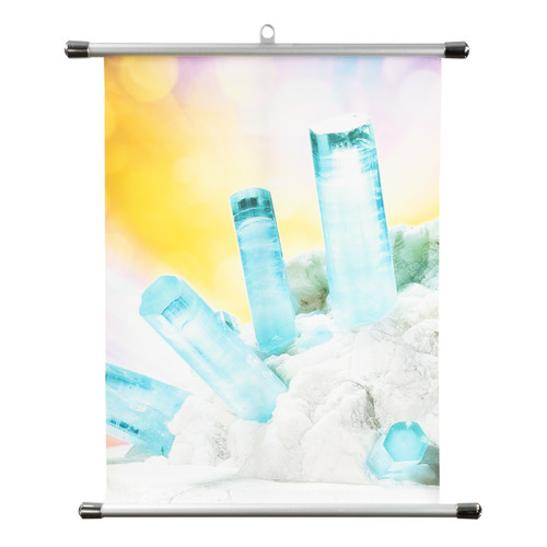 Aquamarine Wall Scroll