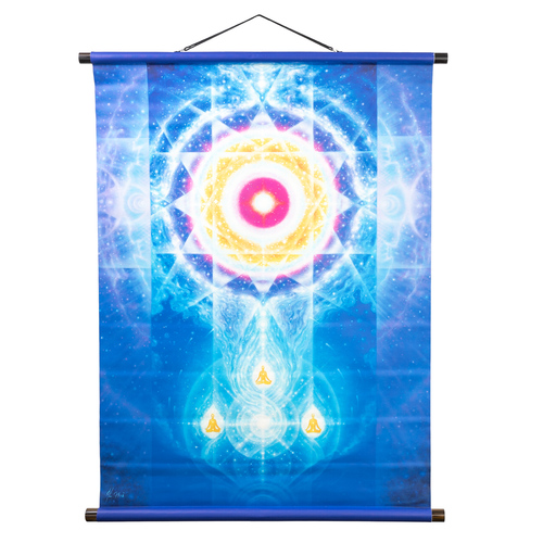 LifeParticle Wall Scroll Banner