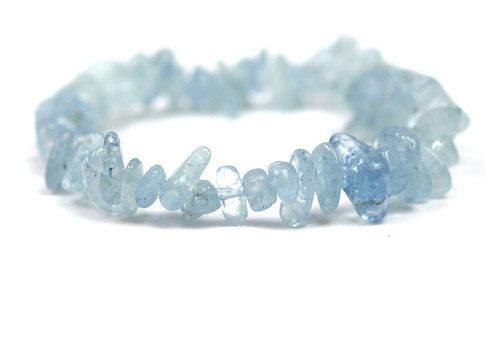 Aquamarine Bracelet Small Nugget