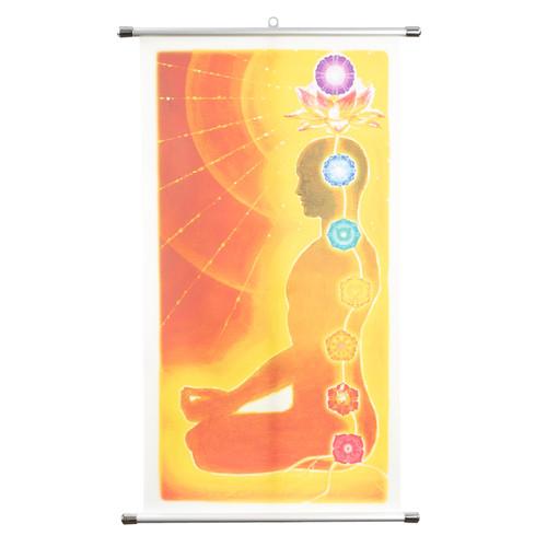 Ilchi Chakra Wall Scroll
