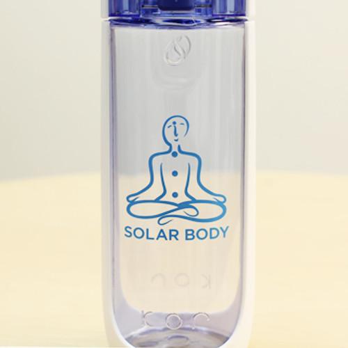 Solar Body Eco Water Bottle (Flip Top)