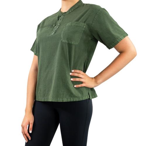 Summer Breeze Shirt Unisex - Forest Green
