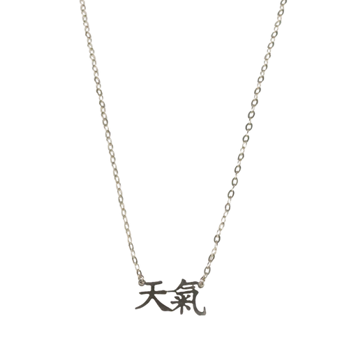 Divine Energy Sterling Silver Necklace 26 chain