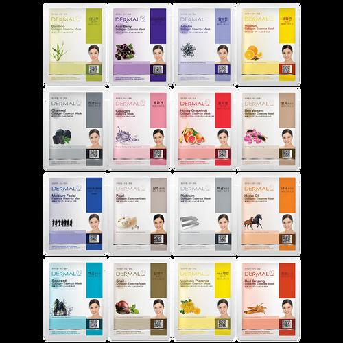 Collagen Essence Face Masks 16 pack
