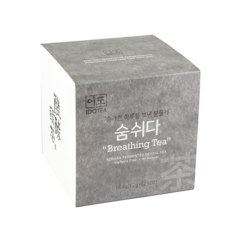 Breathing Tea for Stress Relief - Korean Fermented Herbal Tea