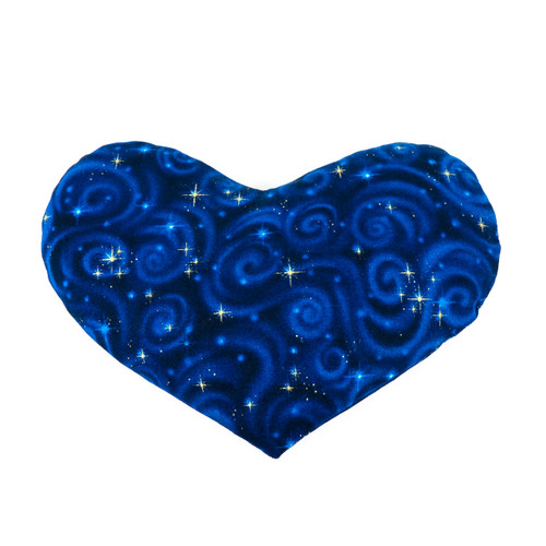 Heartshaped HotCold Pack - Blue