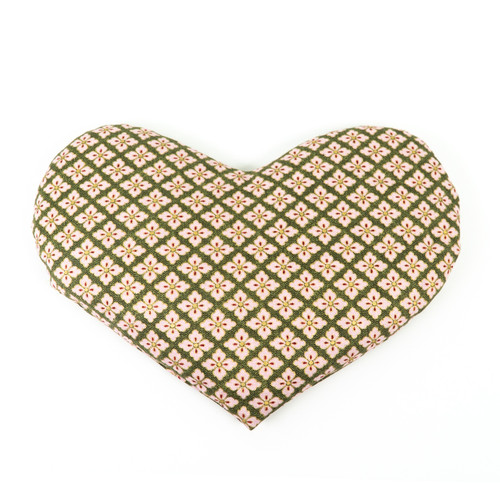 Heartshaped HotCold Pack - Cream