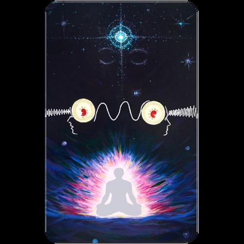 Pineal Gland Meditation Card Third Eye Enhancer