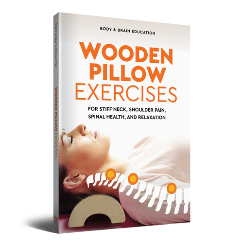 Wooden Pillow Exercises for Stiff Neck, Shoulder Pain, Spinal Health, and Relaxation