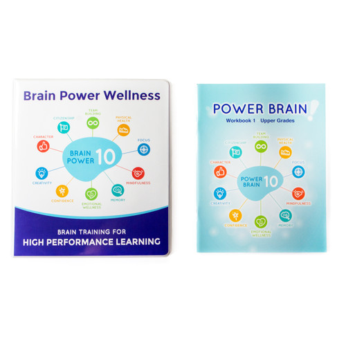 Power Brain Certification Level 1 Materials (Teachers Manual and Student Workbook)
