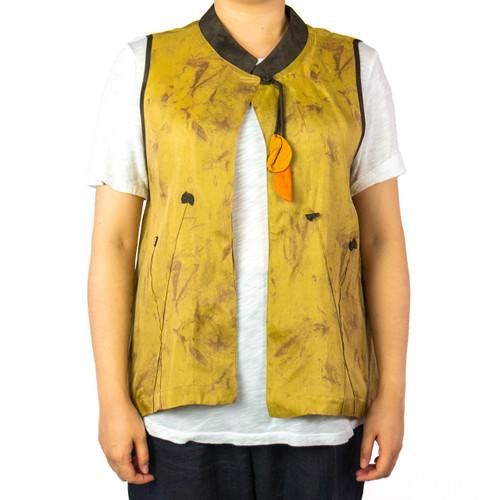 Women's Top Button Vest