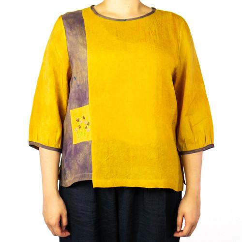 Women's Side Stripe Design Top