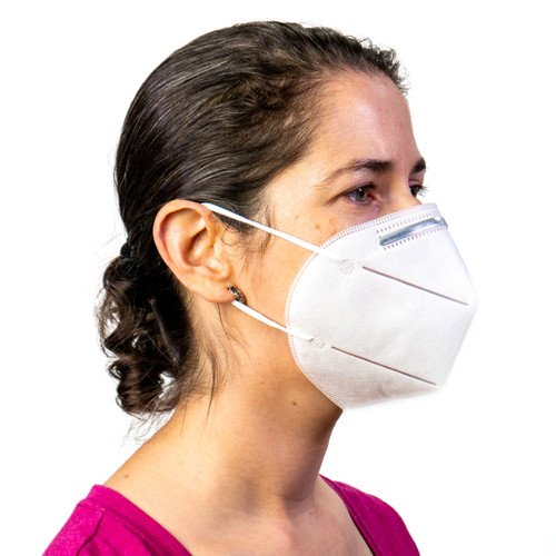 N95 3-D Antibacterial Filter Face Mask (10 Pack)