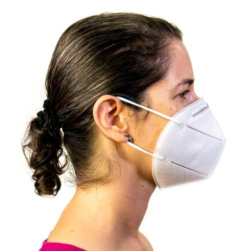 N95 3-D Antibacterial Filter Face Mask (10 Pack)