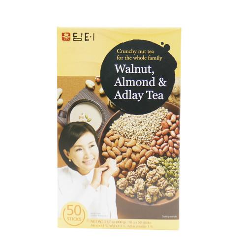 Instant Sweet Walnut Almond Adlay Tea (50 Sticks)