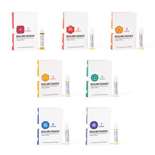Chakra Oil Miniature Set of Seven (One of each: #1-#7)
