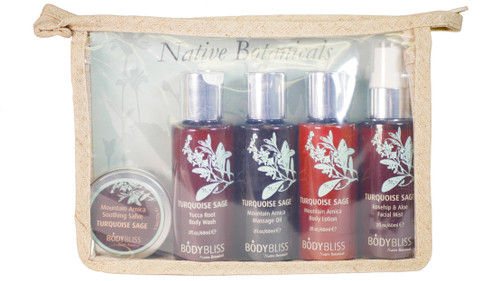 Turquoise Sage Travel Set by BODY BLISS™