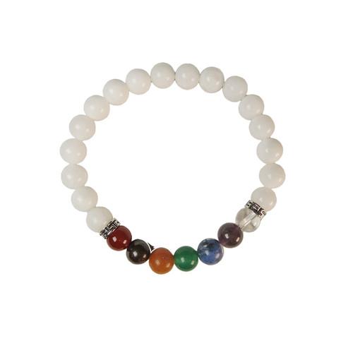 7 Crystals Bracelet (8mm beads)