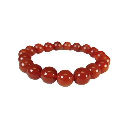 Red Jasper Bracelet (10mm beads)