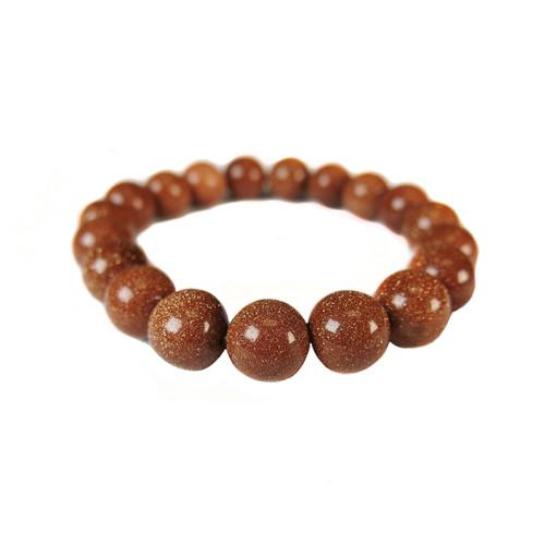 Goldstone Bracelet (10mm beads)