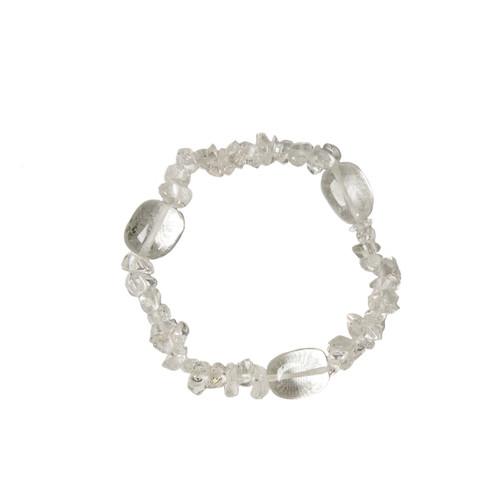 Clear Quartz Bracelet (10mm beads)