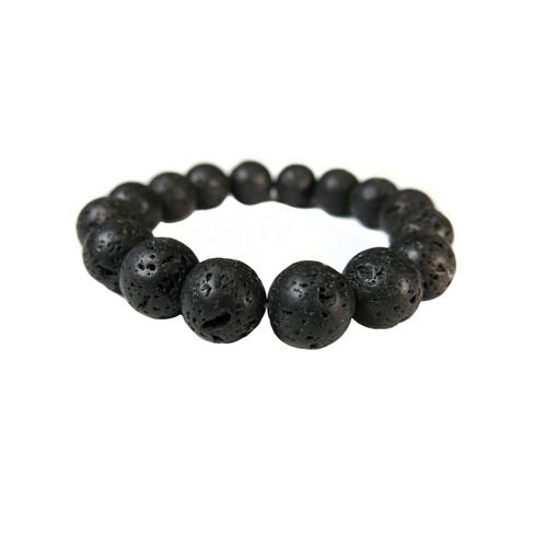 Lava Stone Bracelet (10mm beads)