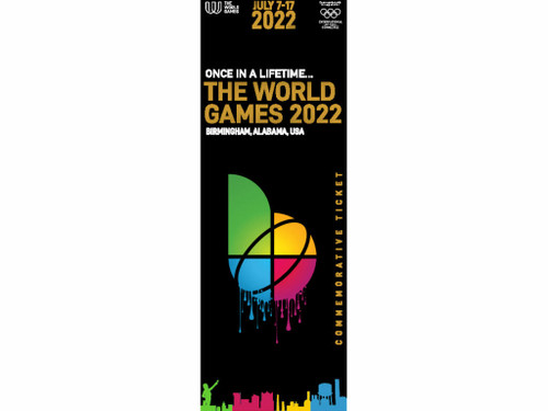 Commemorative the World Games 2022 Ticket