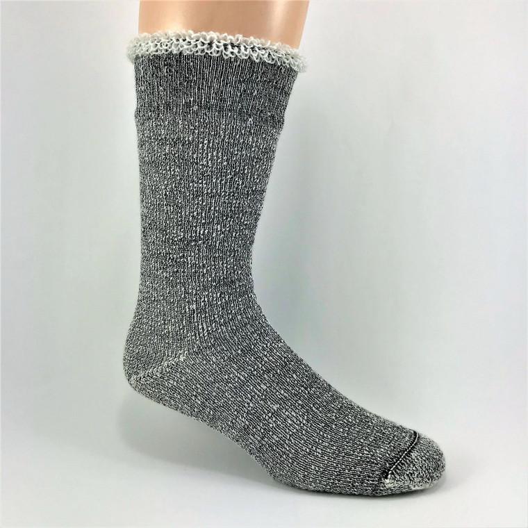 Thermal Alpaca Terry Sock - Light Grey