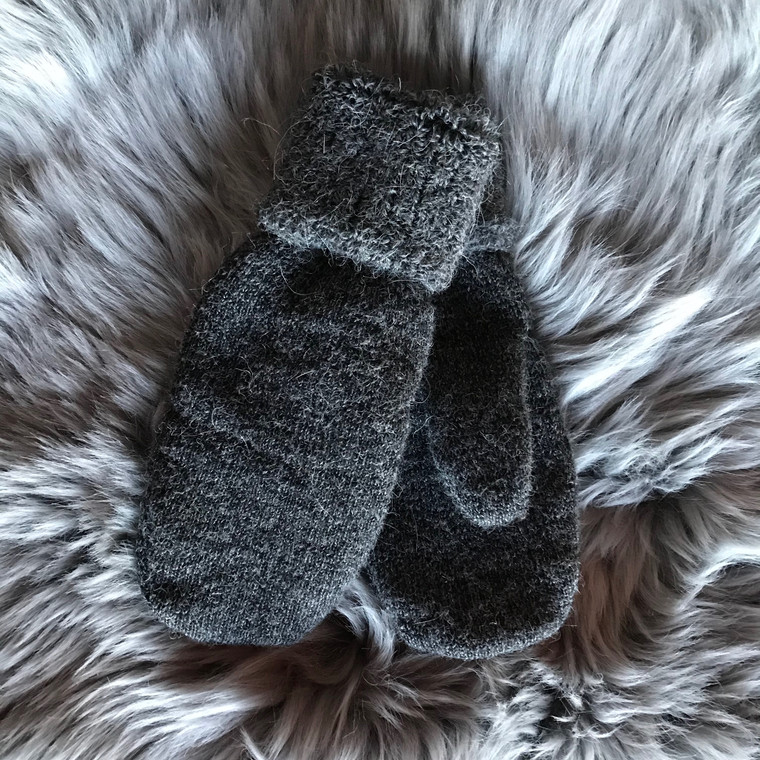Thermal Terry Alpaca Mitts