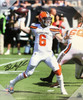 Baker Mayfield Cleveland Browns 20x24 Autographed Canvas 2 - Beckett COA