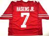 Dwayne Haskins Ohio State Buckeyes Autographed Jersey - JSA Witness Authentic