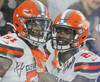 Mack Wilson & Greedy Williams Cleveland Browns 16-1 16x20 Autographed Photo - Certified Authentic